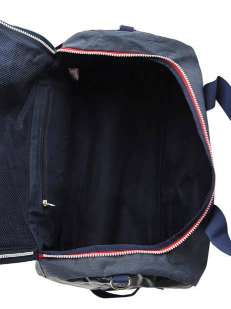 Reistas Handbagage Tricolor Faguo Blauw tricolor 20LU0909 ander zicht 5