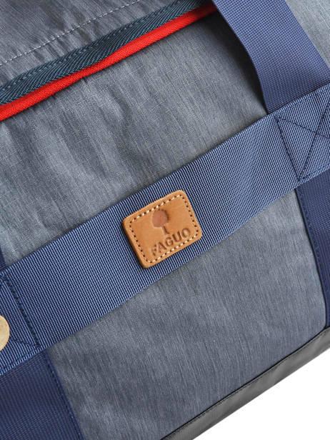 Reistas Handbagage Tricolor Faguo Blauw tricolor 20LU0909 ander zicht 1