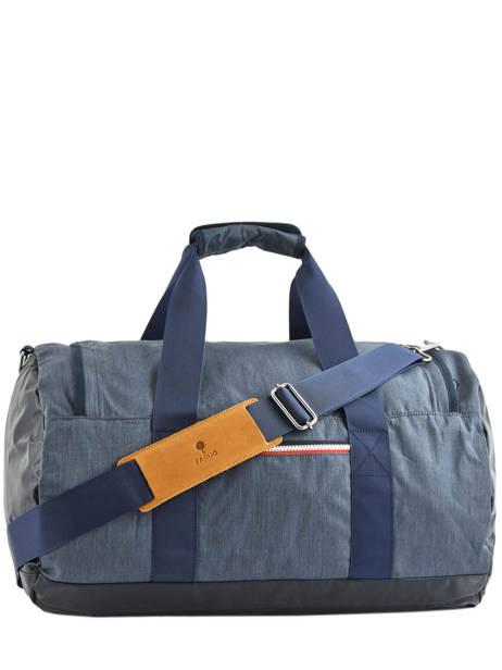 Reistas Handbagage Tricolor Faguo Blauw tricolor 20LU0909 ander zicht 4