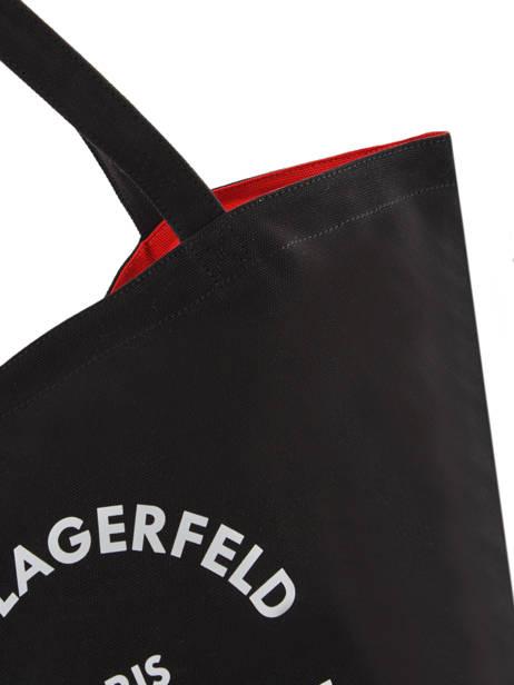 Sac Shopping Rue St Guillaume Canvas Karl lagerfeld Noir rue st guillaume 201W3138 vue secondaire 1