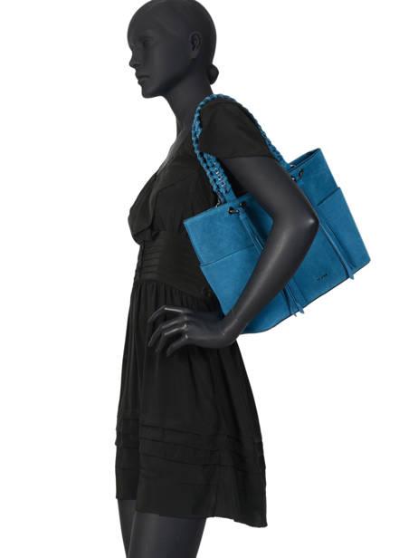 Sac Shopping Obstacle Etrier Bleu obstacle EOBS03 vue secondaire 3