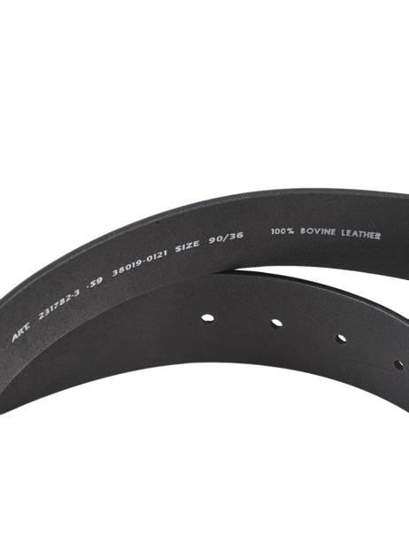 Riem Levi's Zwart accessoires 231782 ander zicht 2