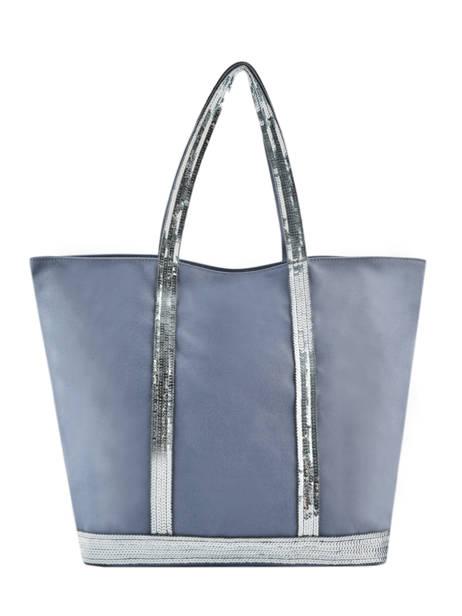 Le Cabas Moyen+ Zippé Paillettes Vanessa bruno Bleu cabas 1V40409
