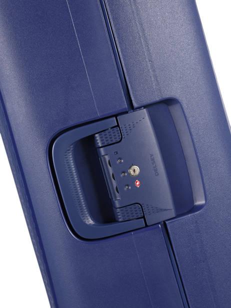 Handbagage Delsey Blauw moncey 3844803B ander zicht 2