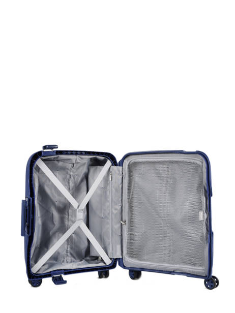 Handbagage Delsey Blauw moncey 3844803B ander zicht 5