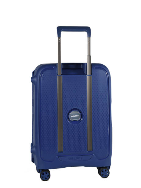 Handbagage Delsey Blauw moncey 3844803B ander zicht 4