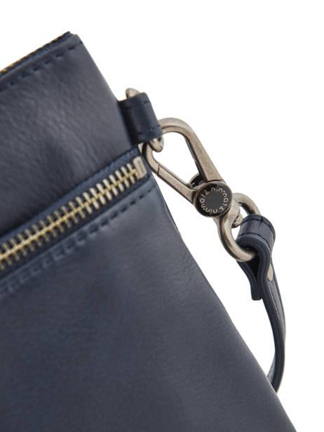 Cross Body Tas Vintage Leder Nat et nin Blauw vintage VICKY ander zicht 1