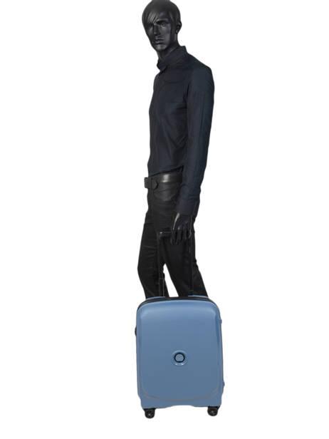 Handbagage Delsey Zwart belmont + 3861803 ander zicht 3