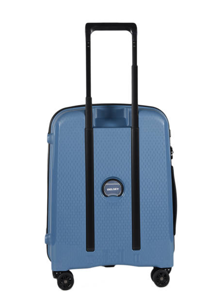 Handbagage Delsey Zwart belmont + 3861803 ander zicht 4