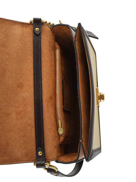Sac Bandoulière Hutton Cuir Coach Marron hutton 89070 vue secondaire 4