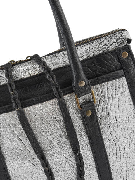 Schoudertas A4 Vintage Leder Paul marius Zwart vintage RIVDRO-M ander zicht 1