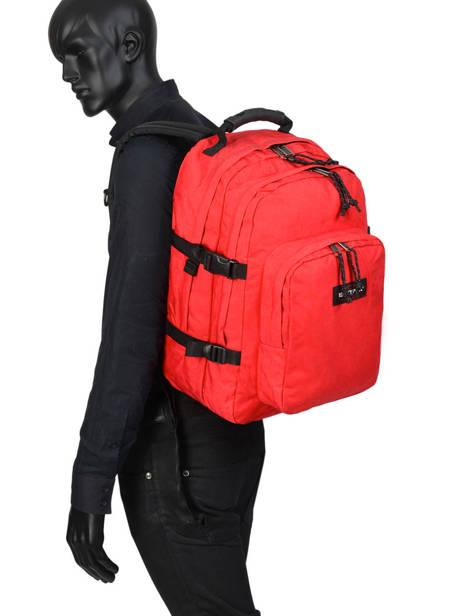 Sac à Dos Provider + Pc 15'' Eastpak Rouge authentic k520 vue secondaire 2