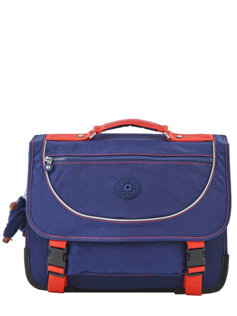Boekentas 2 Compartimenten Kipling Blauw back to school 12074