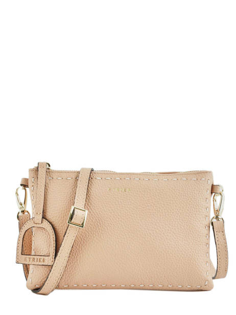 Sac Bandoulière Tradition Cuir Etrier Beige tradition EHER14