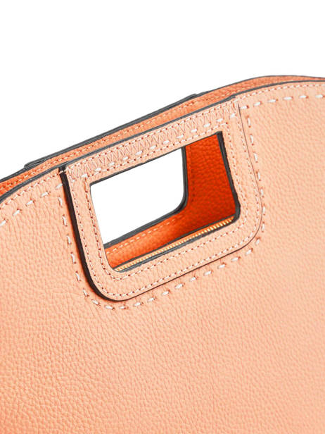 Sac Porté Main Tradition Cuir Etrier Orange tradition EHER31 vue secondaire 2