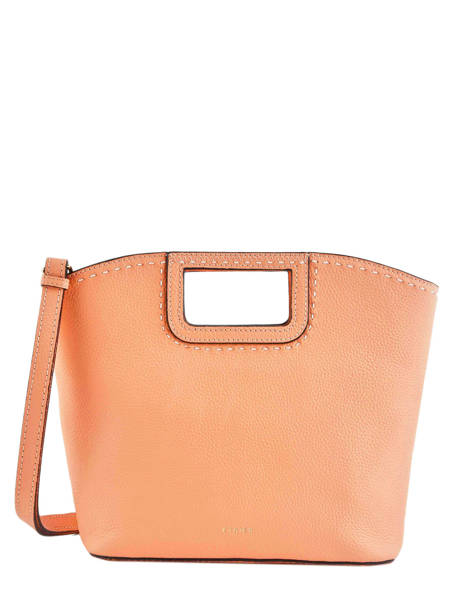 Sac Porté Main Tradition Cuir Etrier Orange tradition EHER31 vue secondaire 1