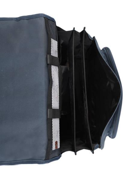 Cartable à Roulettes Enfant 3 Compartiments Cameleon Bleu basic BAS-CR41 vue secondaire 6