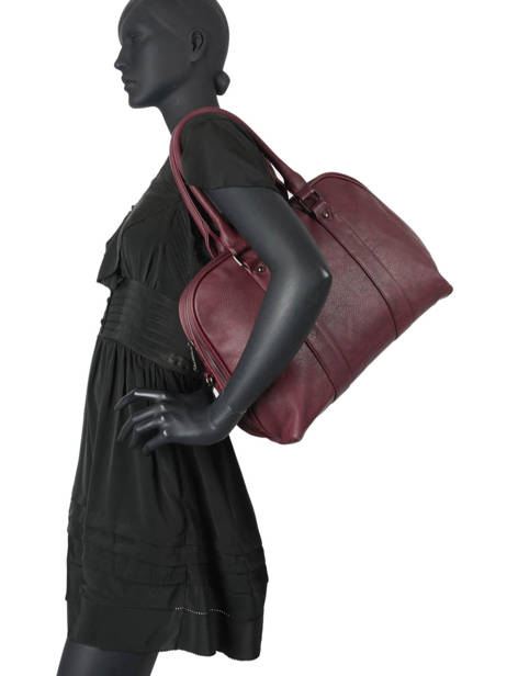 Sac Shopping Format A4 Gallantry Rouge format a4 F528 vue secondaire 1