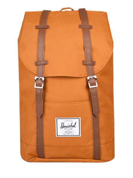 Sac à Dos Retreat 1 Compartiment + Pc 15'' Classics Herschel Orange classics 10066