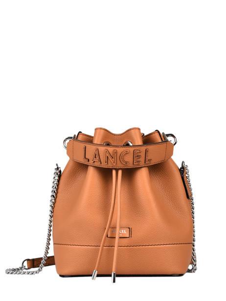 Bucket Bag S Ninon Leder Lancel Bruin ninon A10922