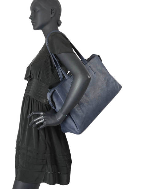 Sac Shopping Format A4 Gallantry Bleu format a4 1 vue secondaire 1