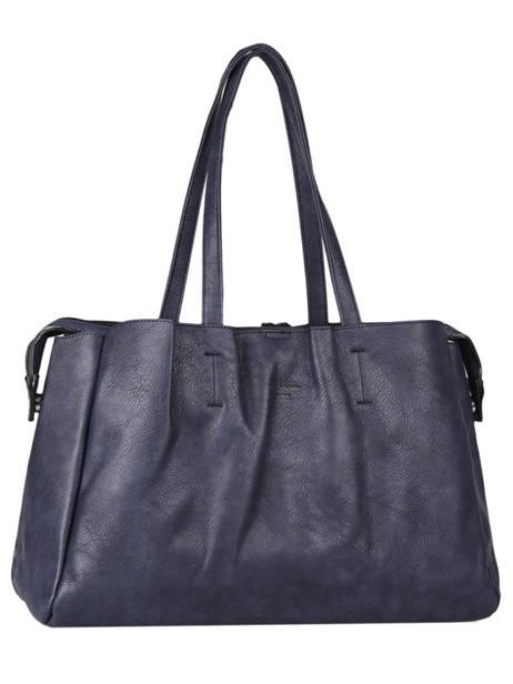 Sac Shopping Format A4 Gallantry Bleu format a4 1 vue secondaire 2