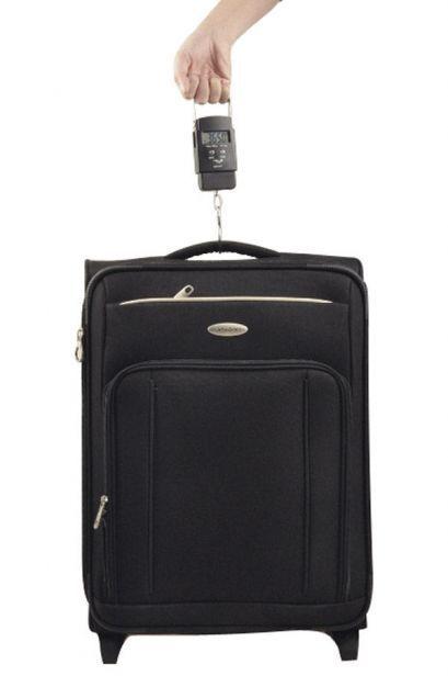 Pese-valise Edisac Argent accessoires Pèse bagage vue secondaire 2