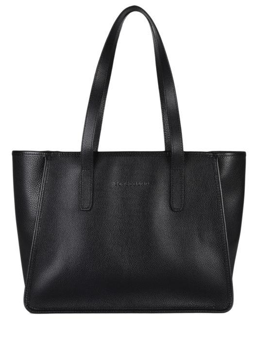 Longchamp Le foulonné Besace Noir