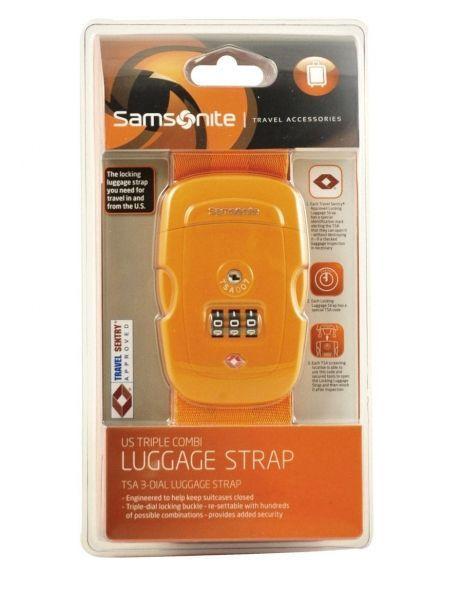 Sangle à Bagage Samsonite Orange accessoires U23003