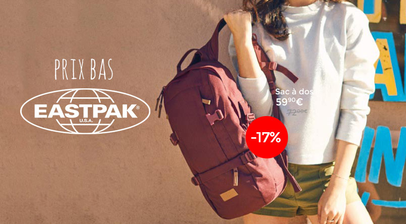 eastpak promotion sac a dos