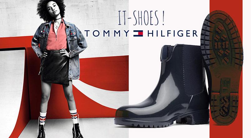 baskets tommy hilfiger boots