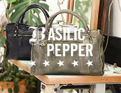handtas basilic peppers