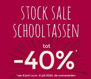 stock sale schooltassen