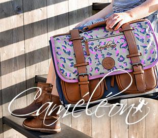 cartable cameleon vintage